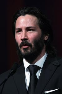 Keanu Reeves at the 17th Annual Palm Springs International Film Festival Gala.