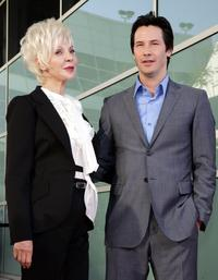 Keanu Reeves and Patricia Taylor at the premiere of
