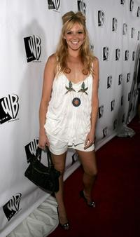 Molly Stanton at the WB Network stars party.