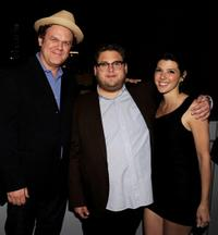 John C. Reilly, Jonah Hill and Marisa Tomei at the after party of the California premiere of