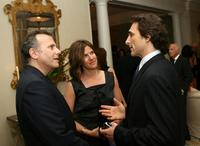 Paul Reiser, wife Paula Ravets and Lawrence Bender at the Children's Health Environmental Coalition's (CHEC) annual benefit.