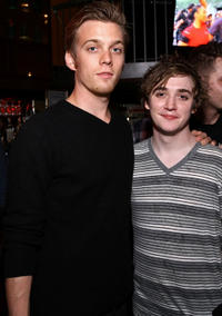 Jake Abel and Kyle Gallner at the Cinemania party during the 2011 Tribeca Film Festival in New York.
