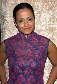 Judy Reyes at the after party of HBO Golden Globe.