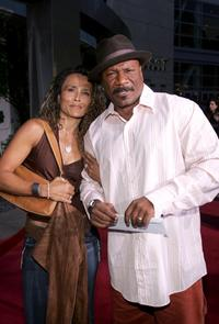 Ving Rhames and Guest at the premiere of
