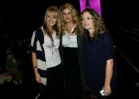 Sophia Coloma, Kirstie Alley and Marissa Ribisi at the Whitley Kros Spring 2008 fashion show during the Mercedes Benz Fashion Week.