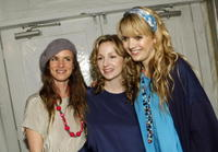 Juliette Lewis, Marissa Ribisi and Sophia Coloma at the Whitley Kros Fall 2008 fashion show during the Mercedes Benz Fashion Week.