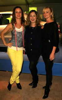 Juliette Lewis, Marissa Ribisi and Jaime Pressly at the Whitley Kros Spring 2008 fashion show during the Mercedes Benz Fashion Week.