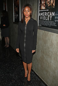 Nicole Beharie at the California premiere