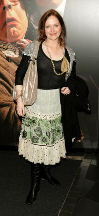 Miranda Richardson at the UK premiere of