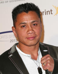 Cung Le at the 28th Anniversary Sports Spectacular Gala in California.
