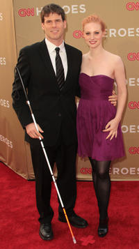Deborah Ann Woll and Guest at the CNN Heroes: An All-Star Tribute in California.