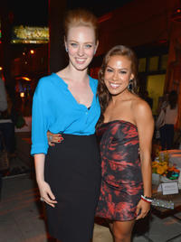 Deborah Ann Woll and Toni Trucks at the after party of the California premiere of