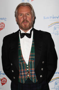 David Robb at the Rainbow Trust: Silver Jubilee Ball in England.