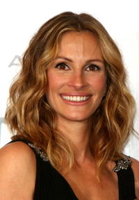 Julia Roberts at the 21st Annual American Cinematheque Award in Beverly Hills, CA