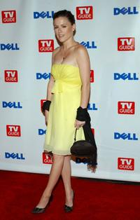 Kathleen Robertson at the TV Guide's Second Annual Emmy after party.