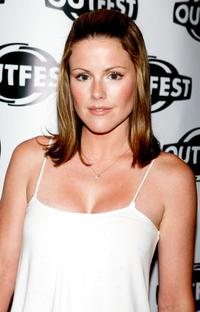 Kathleen Robertson at the 23rd Annual Los Angeles Gay and Lesbian Film Festival.