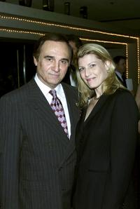 Tony Lo Bianco and his wife Elizabeth at the opening of the Broadway play