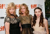 Georgia King, Amy Ferguson and Rooney Mara at the screening of