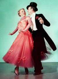 An Undated File Photo of Ginger Rogers and Fred Astaire.