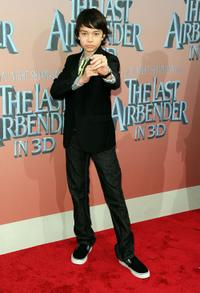 Noah Ringer at the New York premiere of