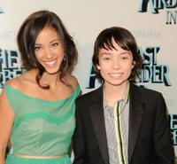 Seychelle Gabriel and Noah Ringer at the New York premiere of