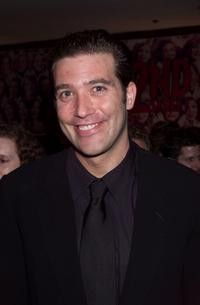 Craig Bierko at the New York post opening party for the Broadway play