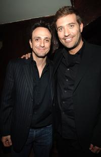 Craig Bierko and Hank Azaria at the New York after party of