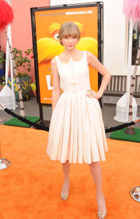Taylor Swift at California premiere of