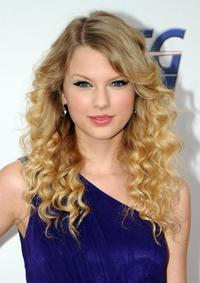 Taylor Swift at the nominations announcement of 51st Grammy Awards.