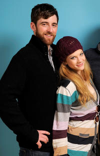 Tyler Dawson and Rebekah Brandes at the portrait session of