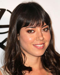 Aubrey Plaza at the 20th annual Environmental Media Association Awards in California.