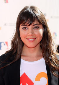 Aubrey Plaza at the Stand Up To Cancer Event in California.