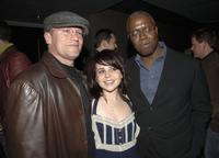 Michael Rooker, Mae Whitman and Andre Braugher at the after party of the premiere screening of