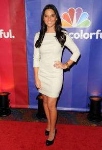 Olivia Munn at the 2010 NBC Upfront presentation.