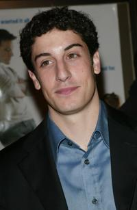Jason Biggs at the New York premiere of