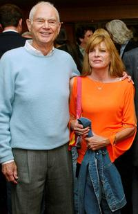 Producer Lawrence Turman and Katharine Ross at the screening of