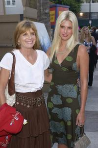 Katherine Ross and daughter at the premiere of