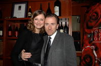 Alexandra Maria Lara and Tim Roth at the after party of the premiere of