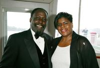 Richard Roundtree and Ruth Browne at the institute's 9th annual Sportsball and Awards Ceremony.