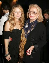 Gena Rowlands and Kate Hudson at the after party for the premiere of Universal Picture's