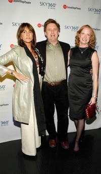 Mercedes Ruehl, Bill Pullman and Johanna Day at the after party of