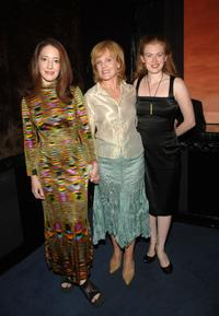 Clea Lewis, Deborah Rush and Mireille Enos at the after party of the opening of