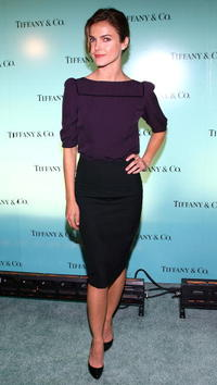 Keri Russell at the launch of The 2007 Blue Book Collection at Tiffany & Co. in N.Y.