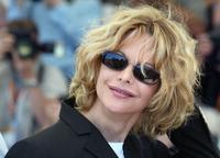 Meg Ryan at photocall on a terrace of the Palais des festivals.