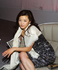 Gianna Jun at the Marche du Film China Night during the 64th Annual Cannes Film Festival.