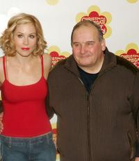 Christina Applegate and Ernie Sabella at the photocall of