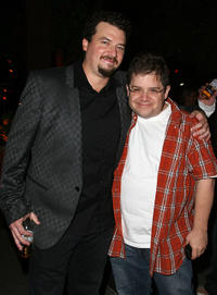 Danny R. McBride and Patton Oswalt at the after party of the 2nd Season premiere of