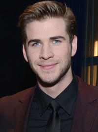 Liam Hemsworth at the 39th Annual People's Choice Awards in L.A.