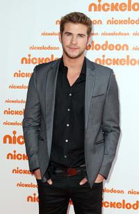 Liam Hemsworth at the Australian Nickelodeon Kids' Choice Awards 2010.