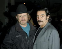 William Sanderson and Ian McShane at the after party for the premiere of